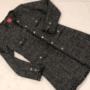 Jackets & Blazers - Veronica Virta tweed coat sz small